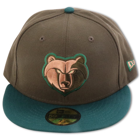 f329ec29e85 MEMPHIS GRIZZLIES NEW ERA 59FIFTY FITTED (BEEF   BROCCOLI)