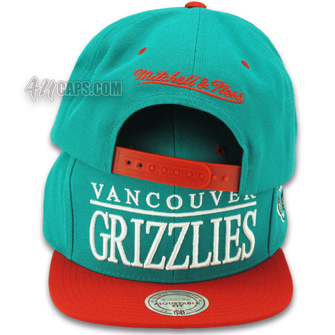 VANCOUVER GRIZZLIES TOP SHELF SNAPBACK BY MITCHELL & NESS (VR22Z)