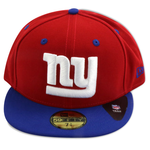 NEW YORK GIANTS 2 TONE TEAM NEW ERA 59FIFTY FITTED