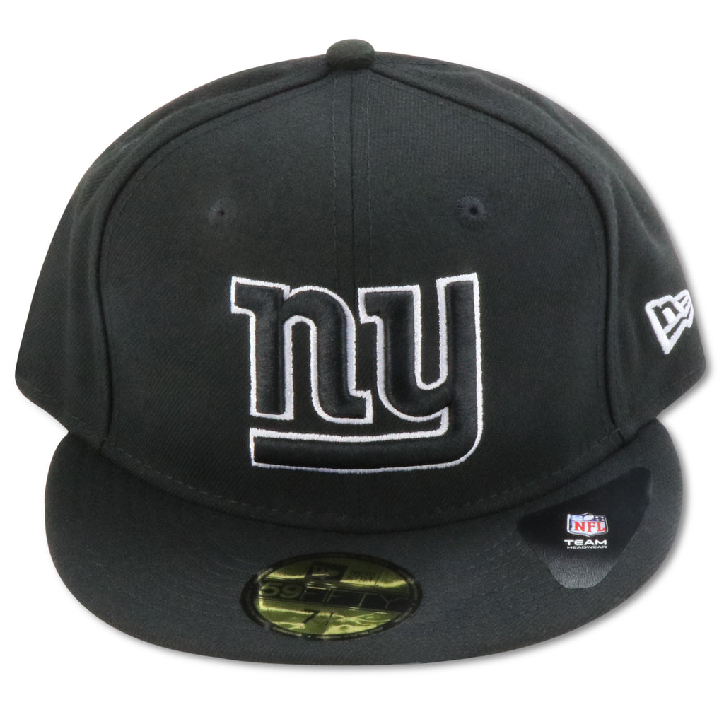 NEW YORK GIANTS NEW ERA 59FIFTY (BLACK WHITE) FITTED a556d6f7612