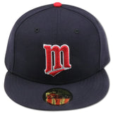 MINNESOTA TWINS 2006 ROAD NEW ERA 59FIFTY FITTED (RED PIN)