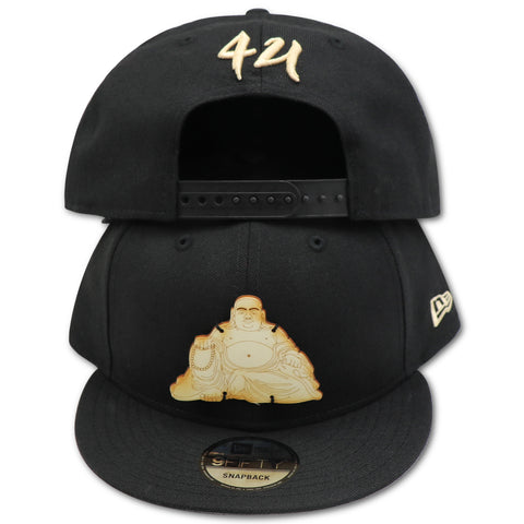 BUDDHA BLISS WOOD LOGO NEW ERA 9FIFTY SNAPBACK