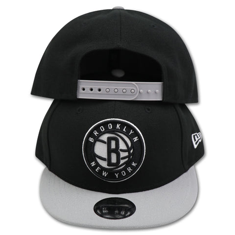 KIDS BROOKLYN NETS 2-TONE NEW ERA 9FIFTY SNAPBACK