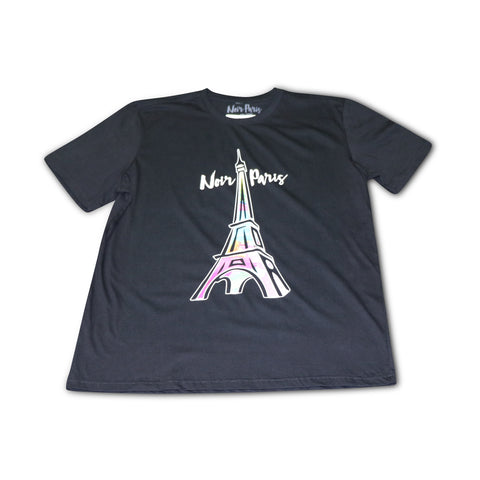 NOIRPARIS THE ART OF PARIS BLACK TEE 9BIG BANG FOAMS)