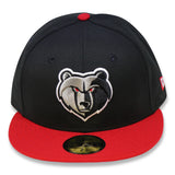 MEMPHIS GRIZZLIES  NEWERA 59FIFTY FITTED (AIRJORDAN 4 RETRO BRED)