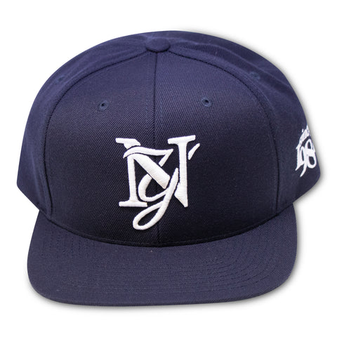 SINCE 1982 NY MONOGRAM NAVY SNAPBACK