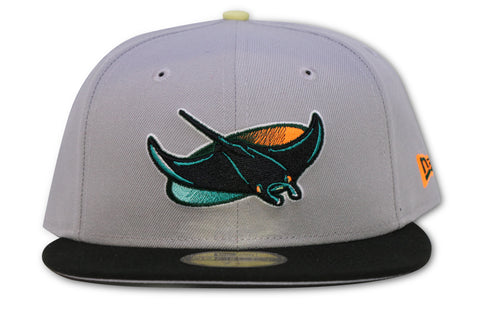 TAMPA BAY DEVILRAYS NEW ERA 59FIFTY FITTED (YEEZY 700 WAVE RUNNER)