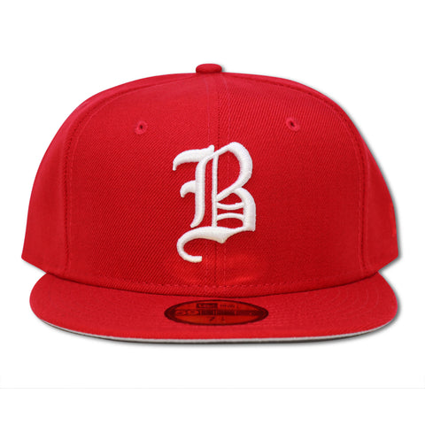 BOSTON BRAVES RED NEW ERA 59FIFTY FITTED