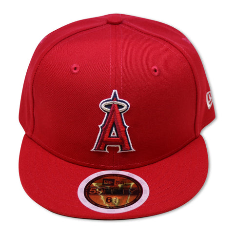 """KIDS"" LOS ANGELES ANGELS NEWERA 59FIFTY FITTED"
