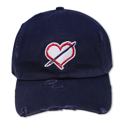 NOIRPARIS NO LOVE (NAVY) DAD HAT