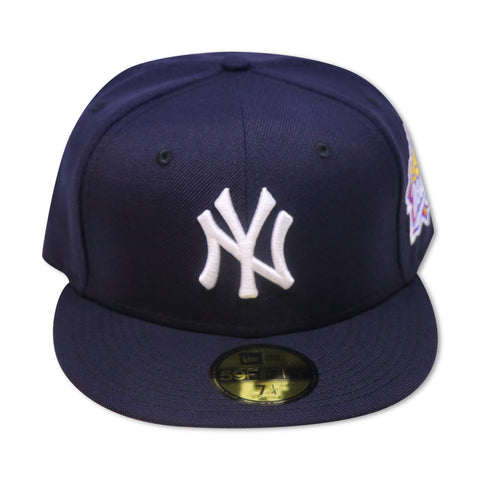 NEW YORK YANKEES 1999 WORLD SERIES NEW ERA 59FIFTY FITTED (GREY BRIM)