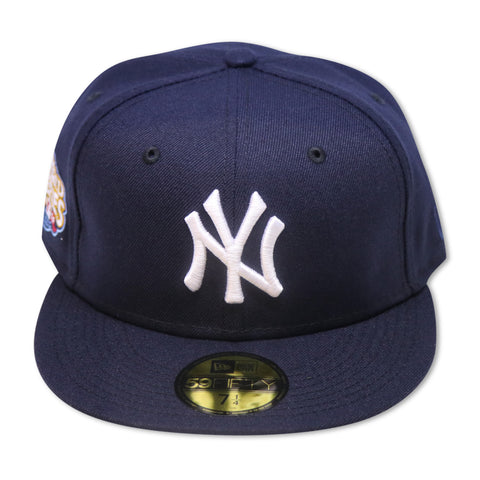 NEW YORK YANKEES 2009 WORLD SERIES NEW ERA 59FIFTY FITTED (GREY BRIM)