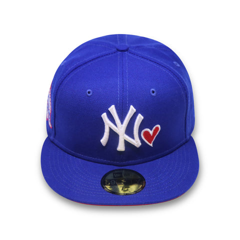 "NEW YORK YANKEES ""LOVE OF THE GAME"" 27X NEW ERA 59FIFTY FITTED (RED BOTTOM)"