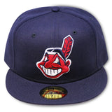 CLEVELAND INDIANS ROAD 1999-2002 NEW ERA 59FIFTY FITTED