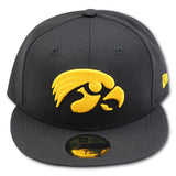 IOWA HAWKEYES NEW ERA 59FIFTY FITTED