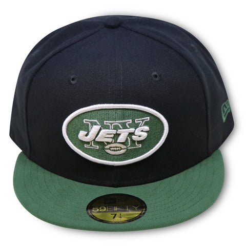 NEW YORK JETS 2-TONE NEW ERA 59FIFTY FITTED