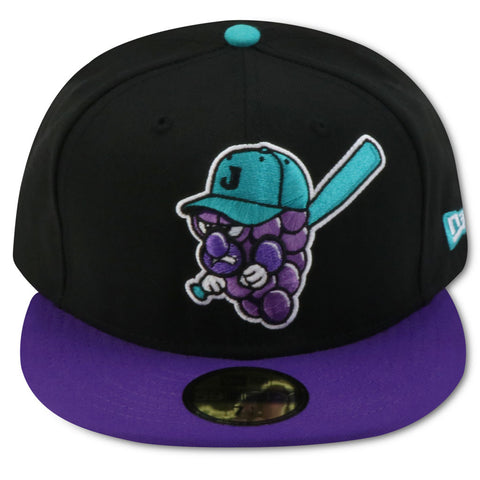 JAMESTOWN JAMMERS NEW ERA 59FIFTY FITTED (AIR JORDAN 8 RETRO AQUA)
