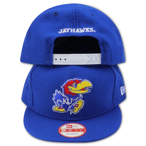 KANSAS JAYHAWKS NEW ERA 9FIFTY SNAPBACK
