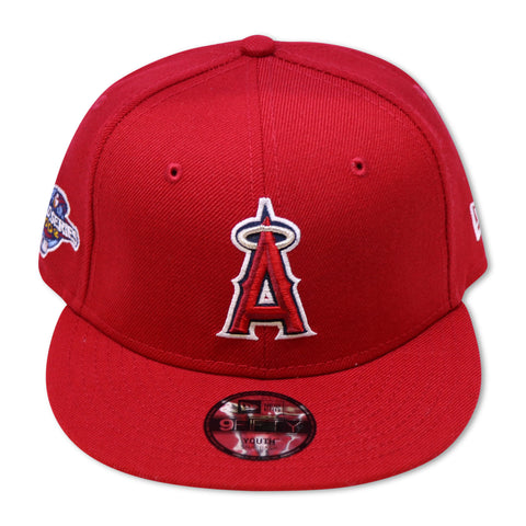 """KIDS"" ANAHIEM ANGELS 2002 WORLDSERIES 9FIFTY NEW ERA SNAPBACKS"