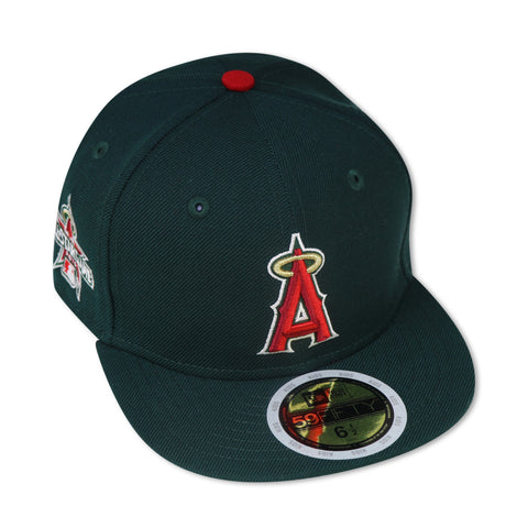 "KIDS - ANAHIEM ANGELS ""2010 ASG"" ""GUCCI GANG SERIES"" NEW ERA 59FIFTY FITTED (RED BOTTOM)"