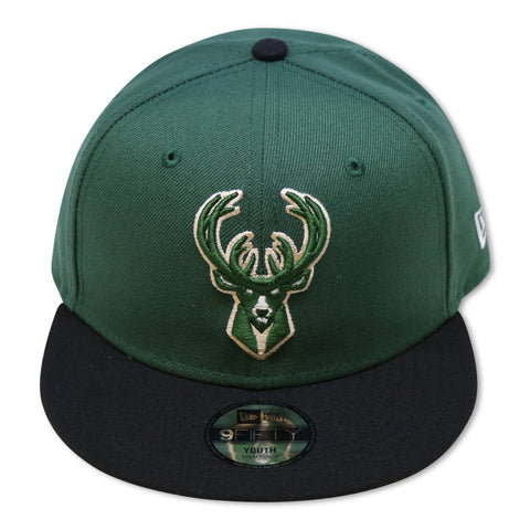 """KIDS"" MILWALKEE BUCKS 9FIFTY NEW ERA SNAPBACK"