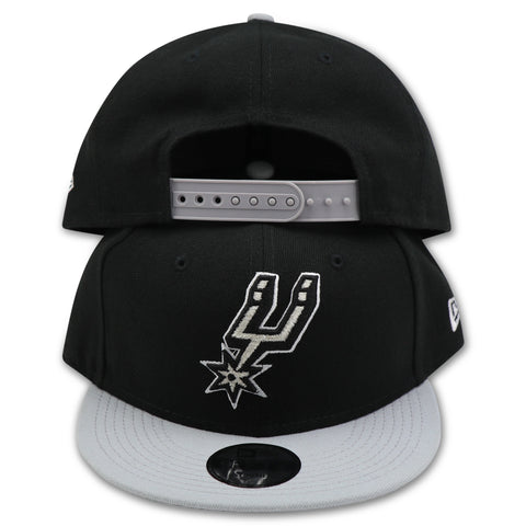 KIDS SAN ANTONIO SPURS 2-TONE NEW ERA 9FIFTY SNAPBACK