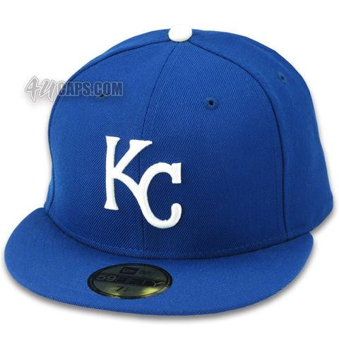 KANSAS CITY ROYALS 2002-2006 GAME NEW ERA 59FIFTY FITTED