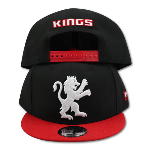 SACRAMENTO KINGS NEW ERA 9FIFTY SNAPBACK (AIR JORDAN 11 RETRO BREDS)