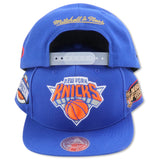 NEW YORK KNICKS 1999 FINALS MITCHELL & NESS SNAPBACK (089VZ)