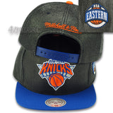 NEW YORK KNICKS STRAW SNAPBACK (KNICKS-201AZ) BY MITCHELL & NESS