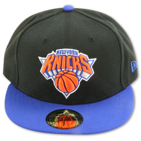 91cdbdce255c0e NEW YORK KNICKS 2TONE BLACK NEW ERA 59FIFTY FITTED