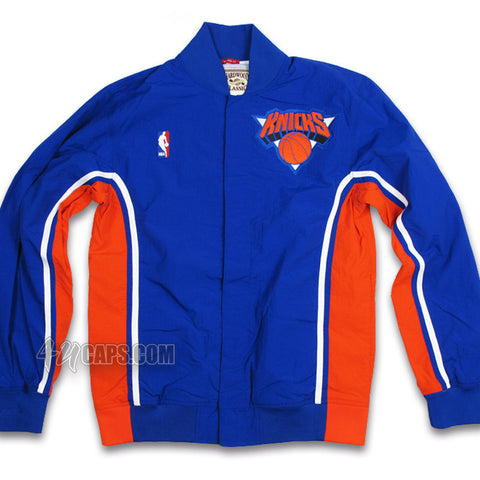 NEW YORK KNICKS 1992-93 AUTHENTIC WARM UP JACKET BY MITCHELL & NESS