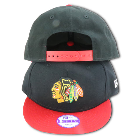 KIDS CHICAGO BLACKHAWKS NEW ERA SNAPBACK