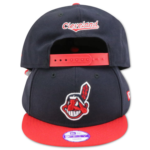 KIDS CLEVELAND INDIANS NEW ERA SNAPBACK