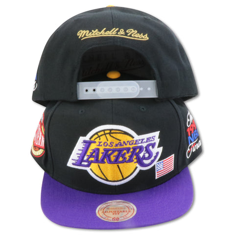 LOS ANGELES LAKERS 1991 FINALS MITCHELL & NESS  SNAPBACK (081VZ)