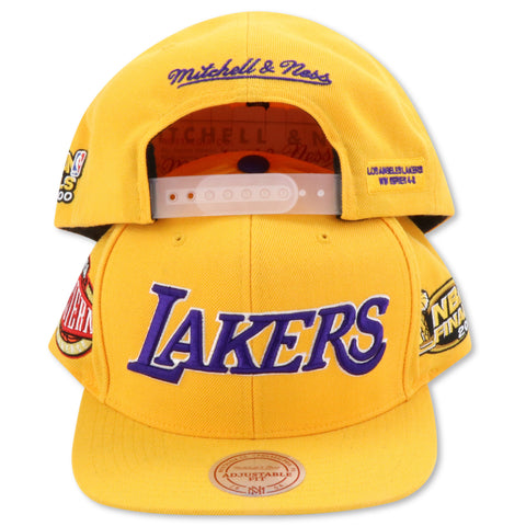 LOS ANGELES LAKERS 2000 FINALS MITCHELL & NESS SNAPBACK (090VZ)