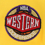 "LOS ANGELES LAKERS ""WESTERN CONFERENCE"" NEW ERA 59FIFTY FITTED (PURPLE BOTTOM)"