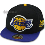 LOS ANGELES LAKERS MITCHELL & NESS 2000 FINALS FITTED