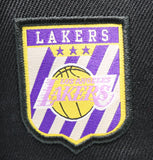 LOS ANGELES LAKERS (BLACK) SCRIPT MITCHELL & NESS (PINK BOTTTOM)
