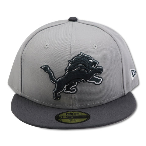 DETROIT LIONS NEW ERA 59FIFTY FITTTED (AIR JORDAN 11 RETRO LOW COOL GREY)