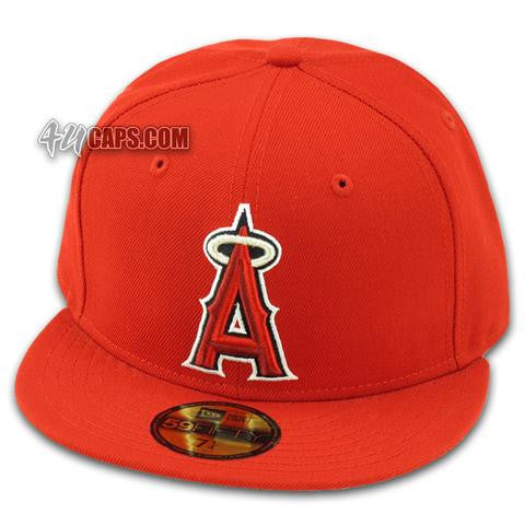 LOS ANGELES ANGELS OF ANAHEIM 2002-2006 GAME NEW ERA 59FIFTY FITTED