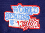 LOS ANGELES DODGERS 1981 WORLD SERIES NEW ERA 59FIFTY FITTED PATCH
