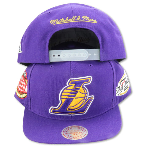 LOS ANGELES LAKERS 2008 FINALS MITCHELL & NESS SNAPBACK (098VZ)