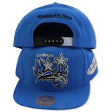 ORLANDO MAGIC 2009 NBA FINALS MITCHELL & NESS  SNAPBACK (NZR85)