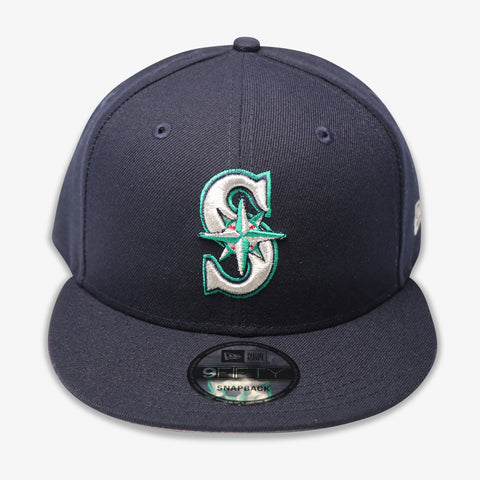 SEATTLE MARINERS (NAVY) NEW ERA SNAPBACK