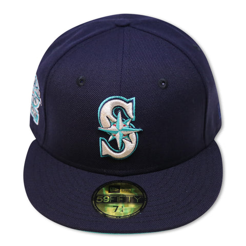 "SEATTLE MARINERS ""20TH ANNIVERSARY"" NEW ERA 59FIFTY FITTED (TEAL BOTTOM)"