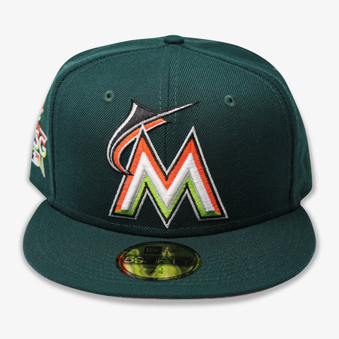 "FLORIDA MARLINS (2017 ASG ""MIAMI"") NEW ERA 59FIFTY FITTED (PINK BOTTOM)"