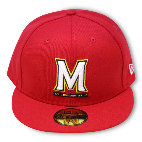 MARYLAND TERRAPINS  NEW ERA 59FIFTY FITTED