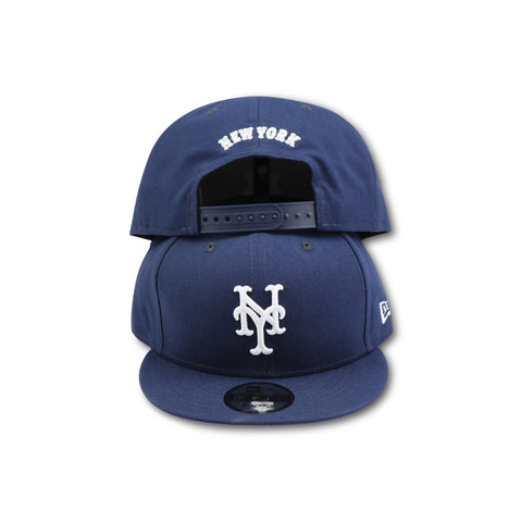 NEW YORK METS NEW ERA 9FIFTY NAVY SNAPBACK