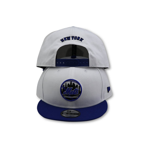"NEW YORK METS ""CITY LOGO"" NEW ERA 9FIFTY SNAPBACK (AIR JORDAN 10 RETRO ORLANDO)"